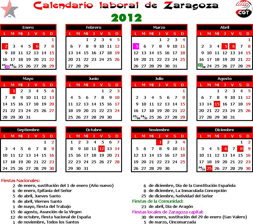 Gatos sindicales diciembre 2011 for Festivos valladolid 2017