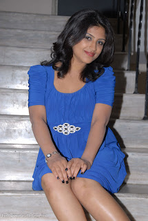 Supriya spotted at Sasesam Audio Release Function in Blue Mini Skirt