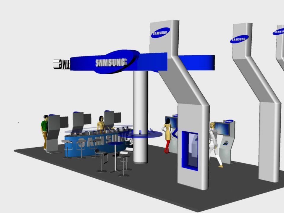 Samsung Exhibition Booth Design : Samsung exhibition booth design ayie azhari
