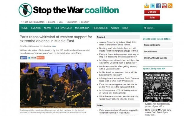 Stop The War' takes down a third article from its website ...