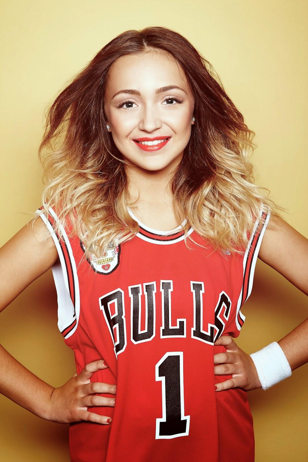 Caroline James Make up Lauren Platt X Factor 2014