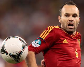 Iniesta, el mejor jugador de la Eurocopa 2012