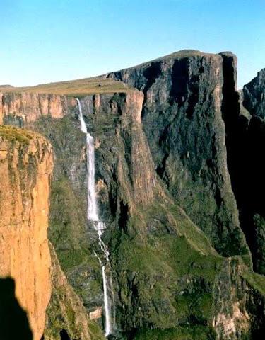 Tugela Falls, Air Terjun tinggi Di Dunia