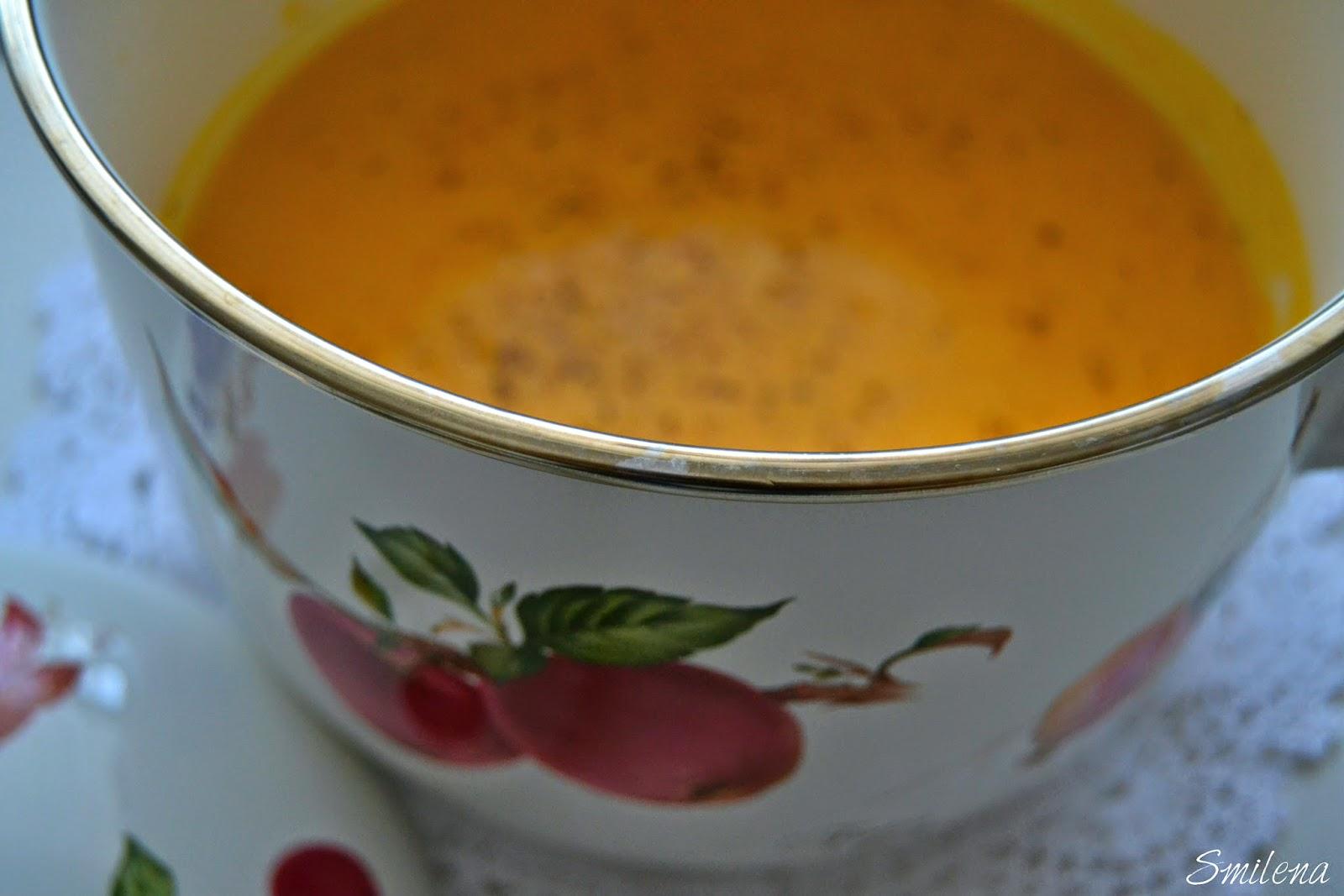 Bal kabağı çorbası yapımı
