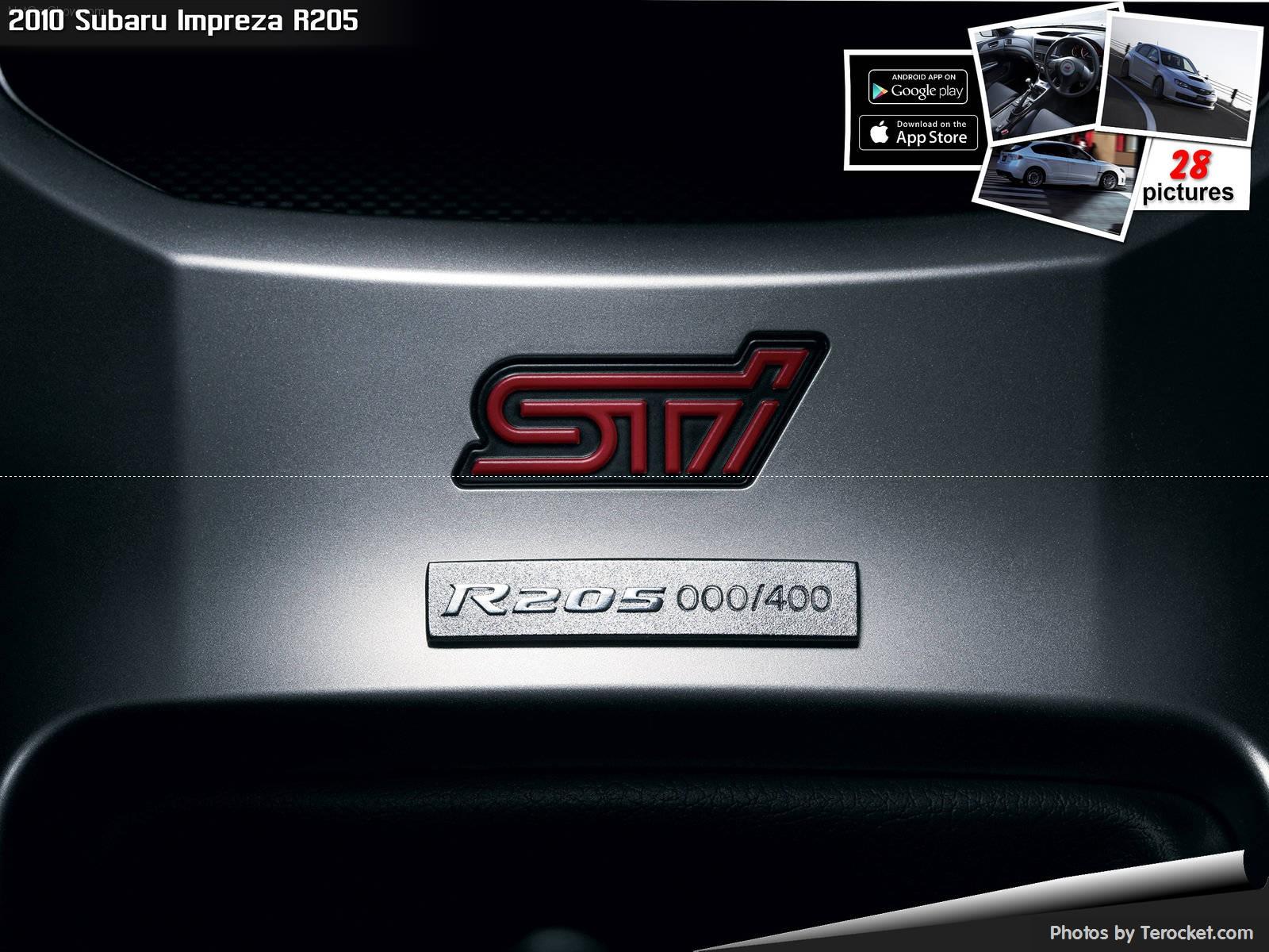 Hình ảnh xe ô tô Subaru Impreza R205 2010 & nội ngoại thất