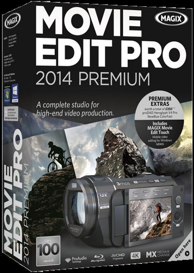 MAGIX Movie Edit Pro 2014