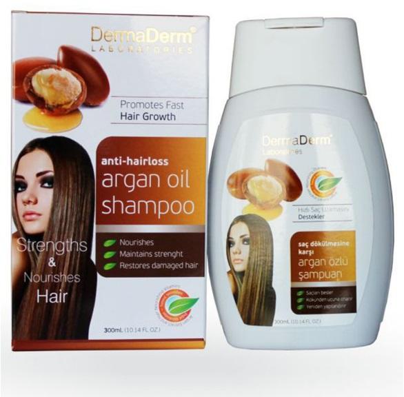 Dermaderm Argan Oil Shampoo Made In Turkey