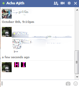 Colored Facebook chat