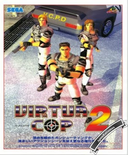 Virtua Cop 2 Cover, Poster