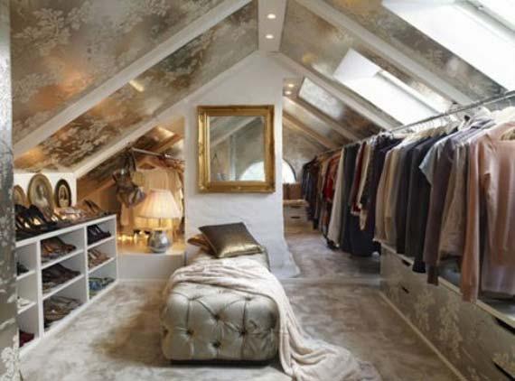 Slanted tiptoe butterfly for Cape cod attic bedroom ideas