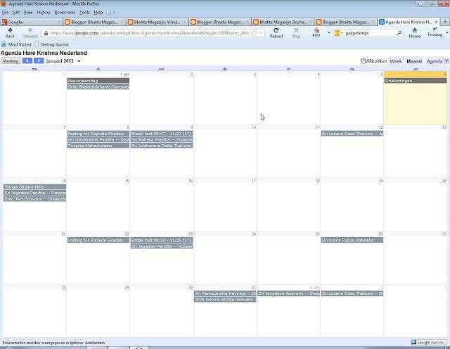Ekadasi kalender