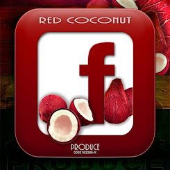 red COCONUT produce