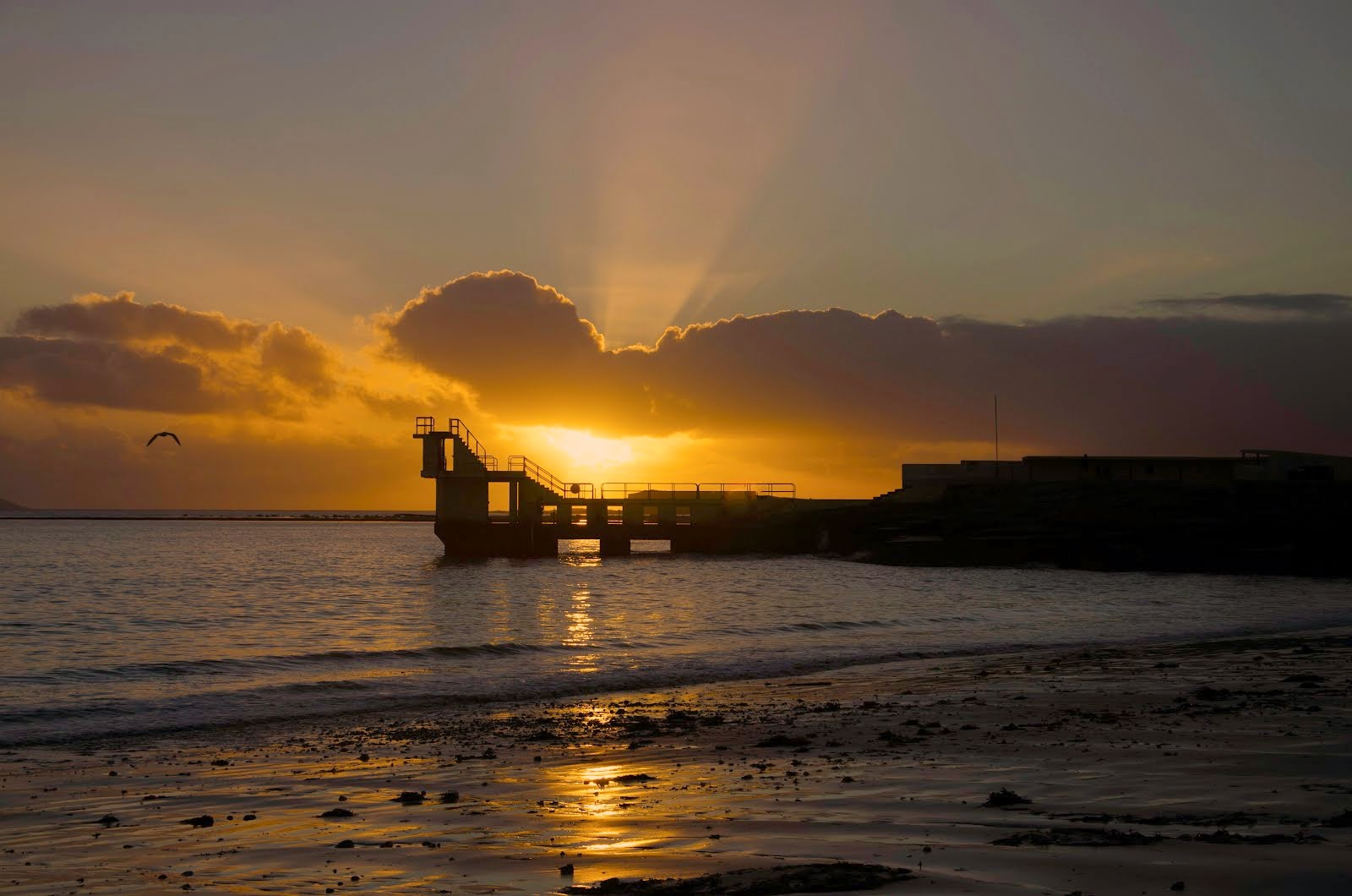 Sunset in Salthill