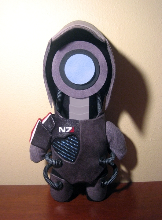 Mass Effect Plushies