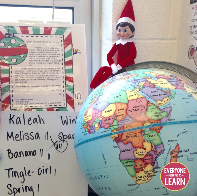 Classroom Elf Ideas ~ Days of elf mas classroom on the shelf ideas