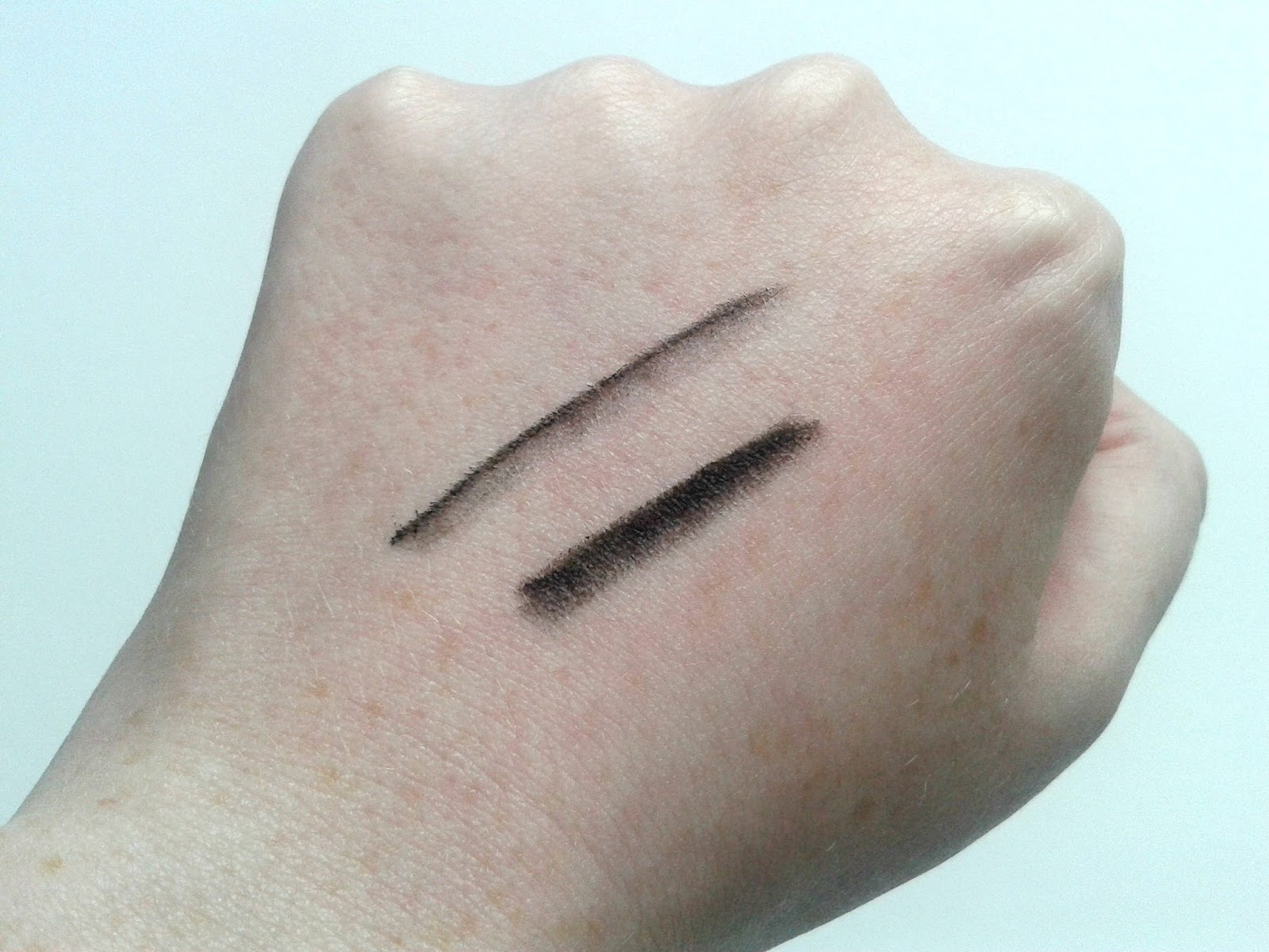 Victoria's Secret Smoky Exotics Eye Palette Beauty Review Eyeliner pencil swatches