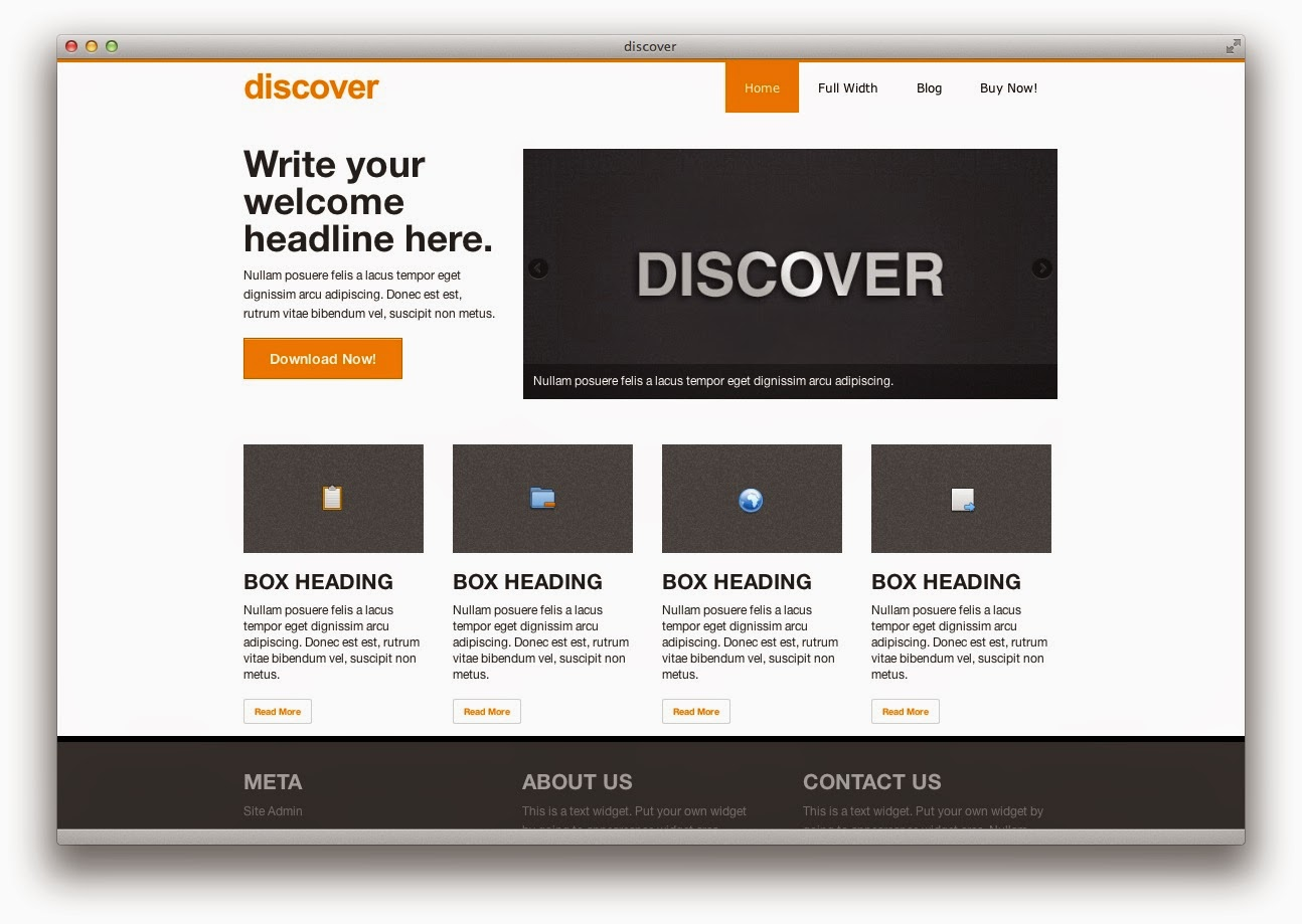 Discover – Responsive WooCommerce theme for Business or Online Store