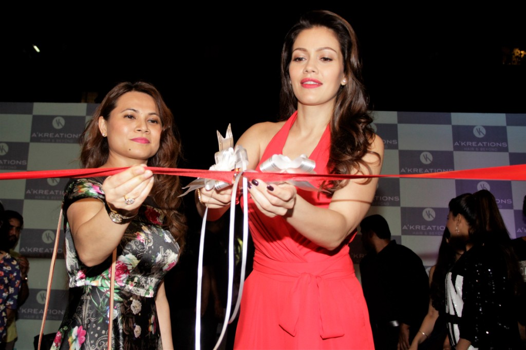 waluscha de sousa and richa chadha grace the reopening of