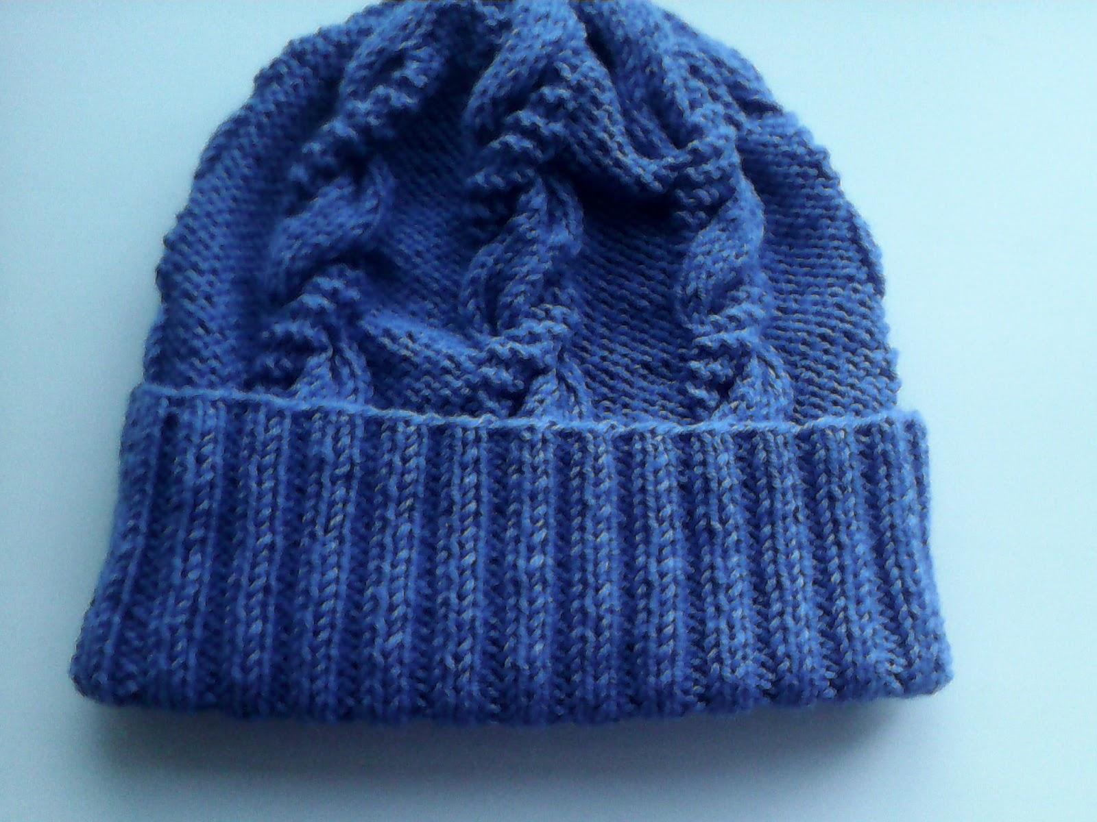 схемы вязания сложных косичек спицами на шапке