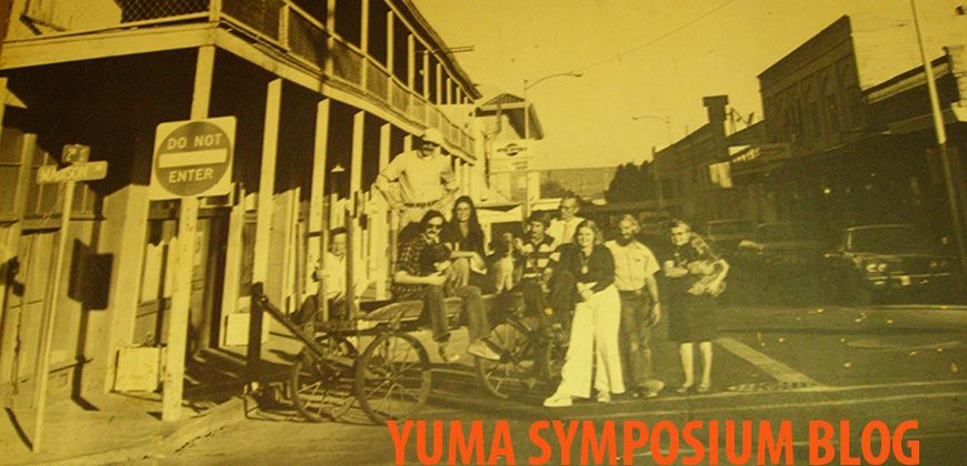 Yuma Symposium Blog