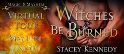 TBT Presents~Stacey Kennedy's Witches Be Burned