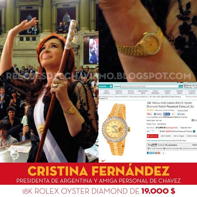 La reacción de la gente con plata a afiches de CFK
