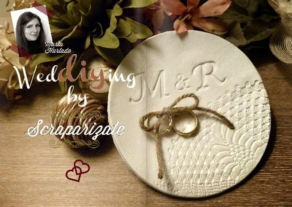 DIY Porta alianzas original blog de bodas