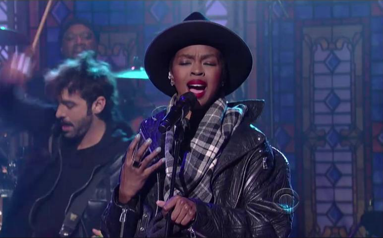 "Lauryn Hill Performs The Beatles ""Something"" Live"
