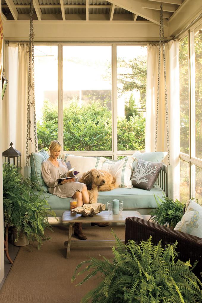 Entre barrancos decoraci n balancines para la terraza y for Balancines de jardin