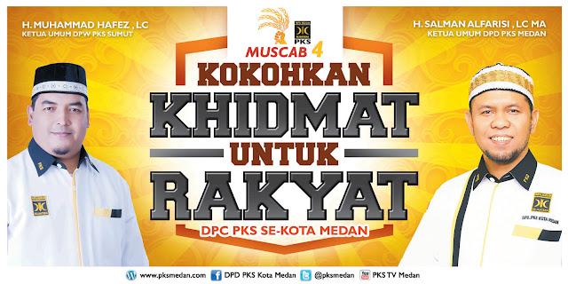 Suksesi Kepemimpinan, Hari ini PKS Gelar Muscab Se-Kota Medan