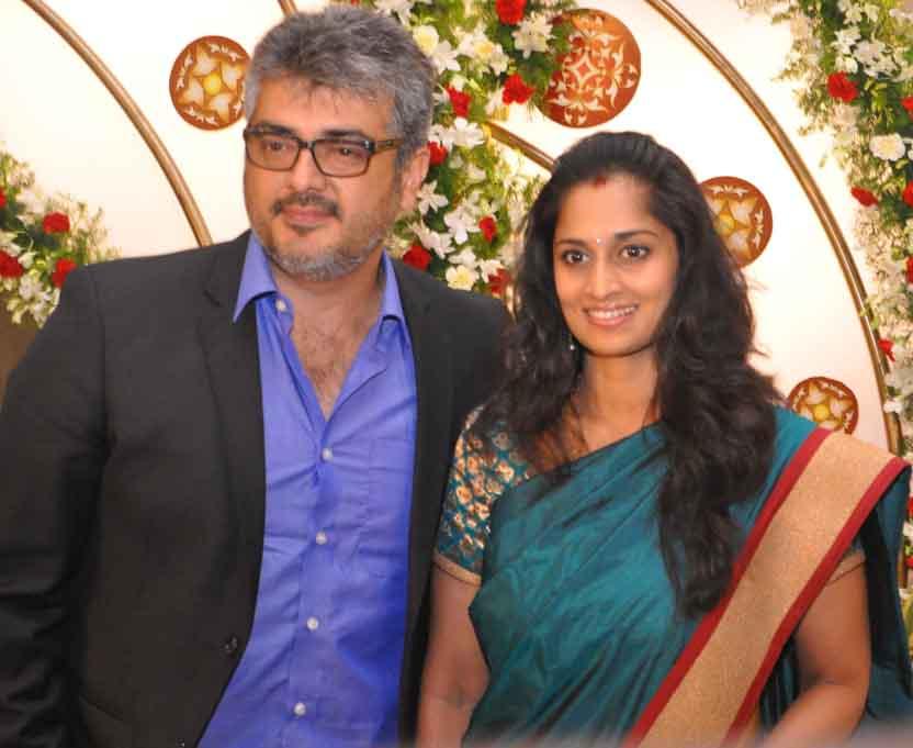 Tamil Cinema News Ajith And Shalini Rare Photos
