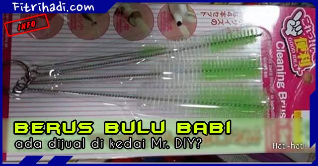 (Gambar) Berus Bulu Babi Dijual di Kedai Mr. DIY 4