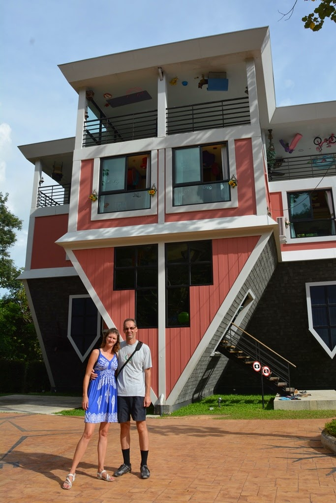 Upside down house Phuket