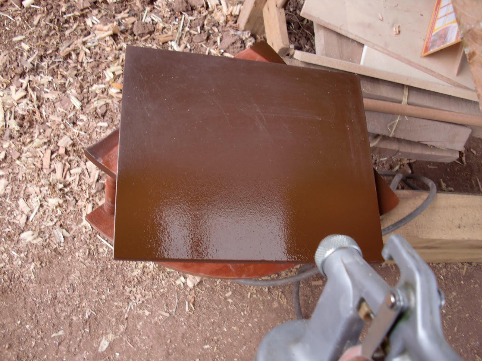 Decoraciones manualidades en madera mdf color chocolate - Pintura blanca para madera ...