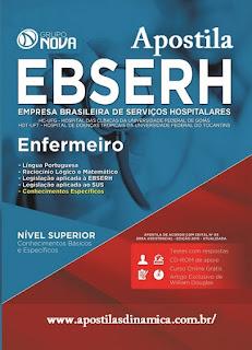 Apostila EBSERH Enfermeiro HC-UFG.