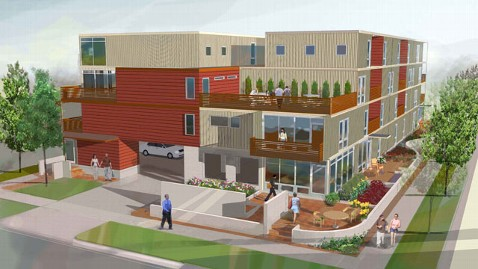 The crimson cavalier shipping container homes for Aprisa mexican cuisine portland