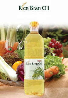 rice bran oil bottle