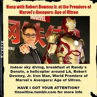CONTEST: Hang with  RDJ at the Premiere of Marvel's Avengers: Age of Ultron