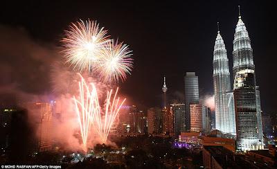 Perayaan Tahun Baru 2012 di Malaysia