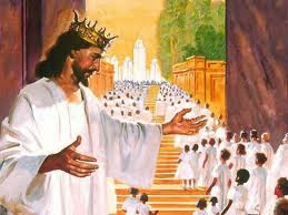 "King Jesus will Take His People to the ""Place He Prepared For Them"""