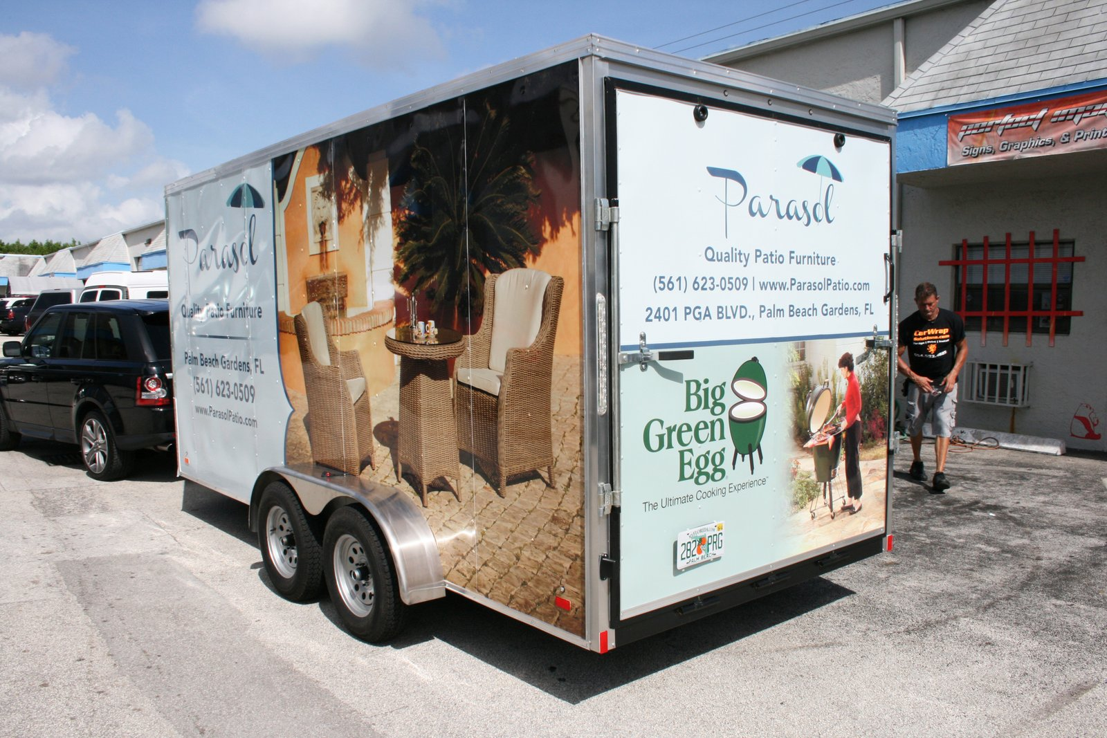 Trailer Wrap Palm Beach Gardens Fl For Parasol Patio Furniture 3m Certified Car Wrap Solutions