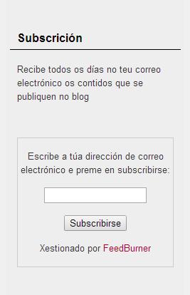 Subscrición