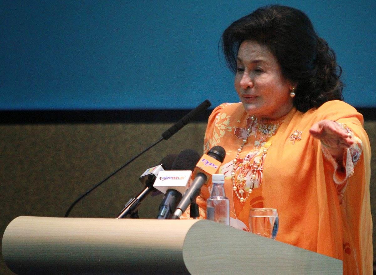 Saya jadi mangsa fitnah kerana pembangkang gagal fitnah Najib