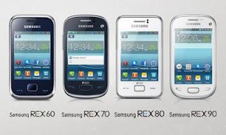 Samsung Rilis Samsung Rex Series di India