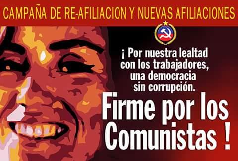 FIRME POR LOS COMUNISTAS !