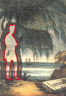 Hidden Napoleone Bonaparte optical illusion
