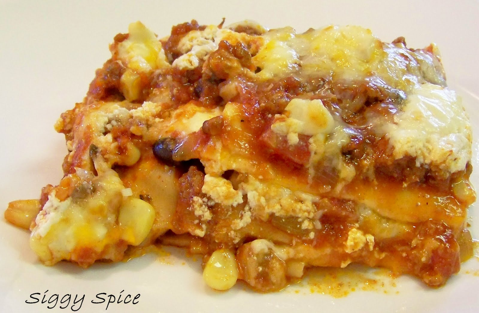 Mexican Lasagna Recipe — Dishmaps