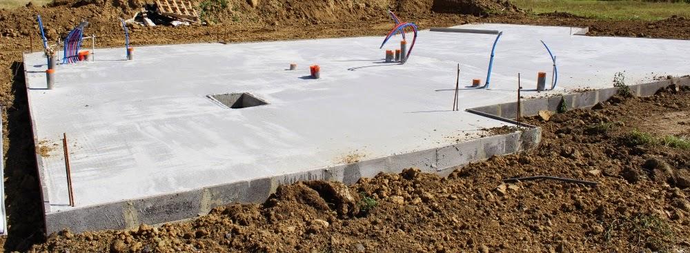 faire des fondations beautiful dalle au sol fondations avec ou sans soussol ou mme sur pieuxu. Black Bedroom Furniture Sets. Home Design Ideas