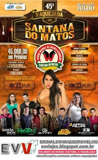 Santana do Mato está em Festa de Gado