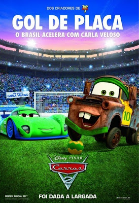 Affiche internationale du film Cars 2